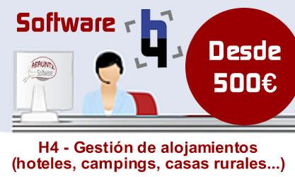Promoción Software H4 - Gestión de alojamientos
